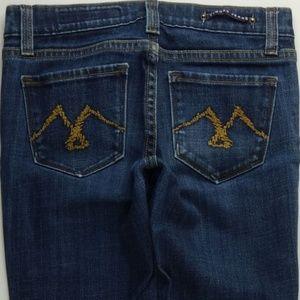 Vigoss Straight Leg 0 Women's Juniors Jeans C410P